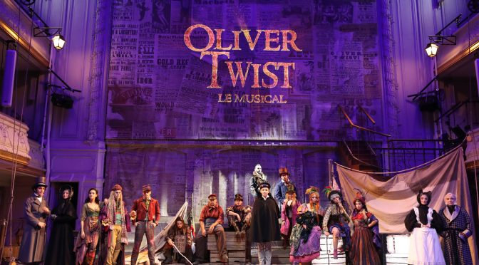 Oliver Twist le Musical à Paris : digne de Broadway !