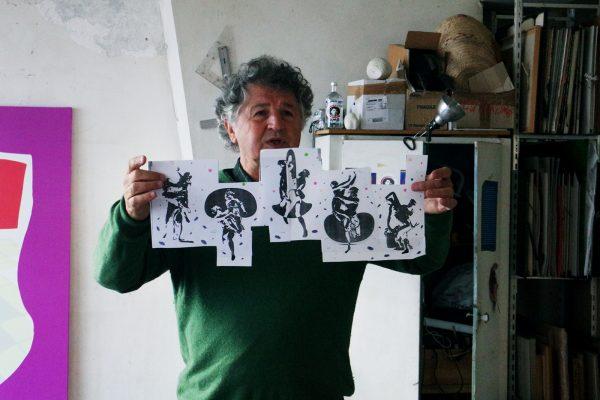 Ivan Messac et la maquette du projet