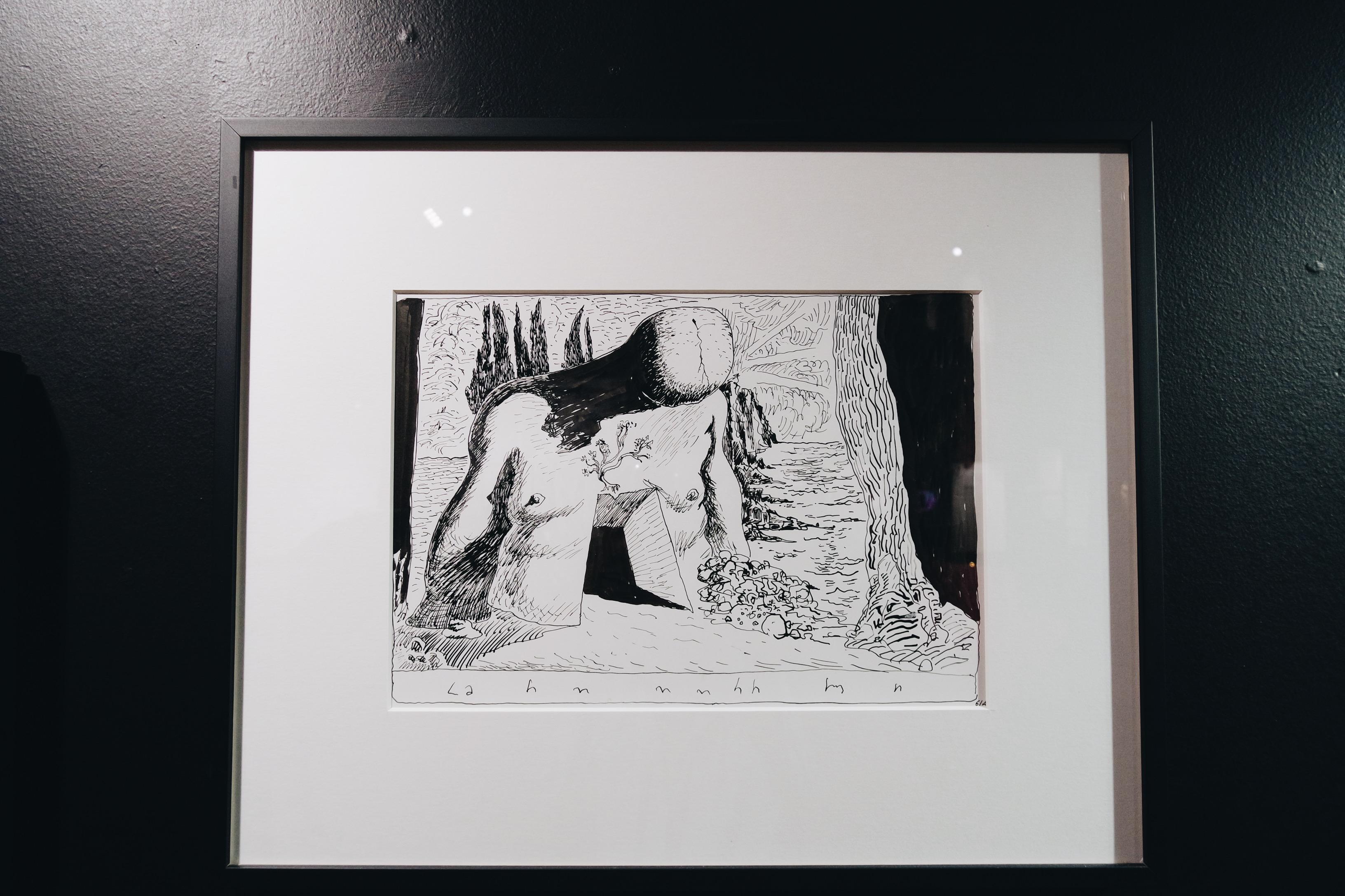 Salvador-Dali-Labyrinth-Le-Labyrinthe-dessin-hommage-de-Joann-Sfar-exposition-Espace-Dali-Paris-Montmartre-fin-de-parenthèse