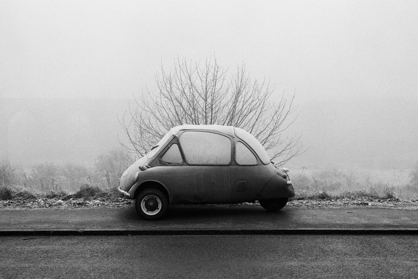 GB. England. Elland. From 'Bad Weather'. December. 1978.