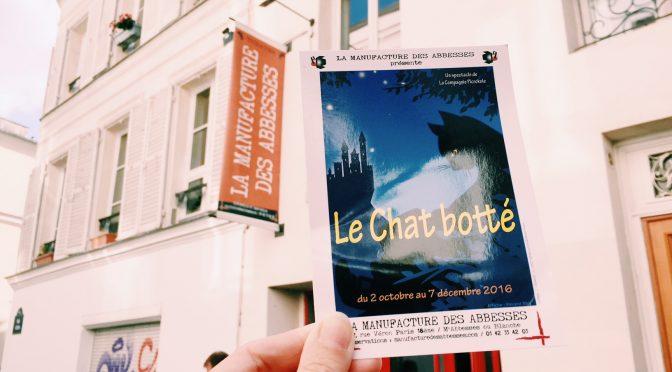 Le Chat Botté @ la Manufacture des Abbesses : poétique & délicat