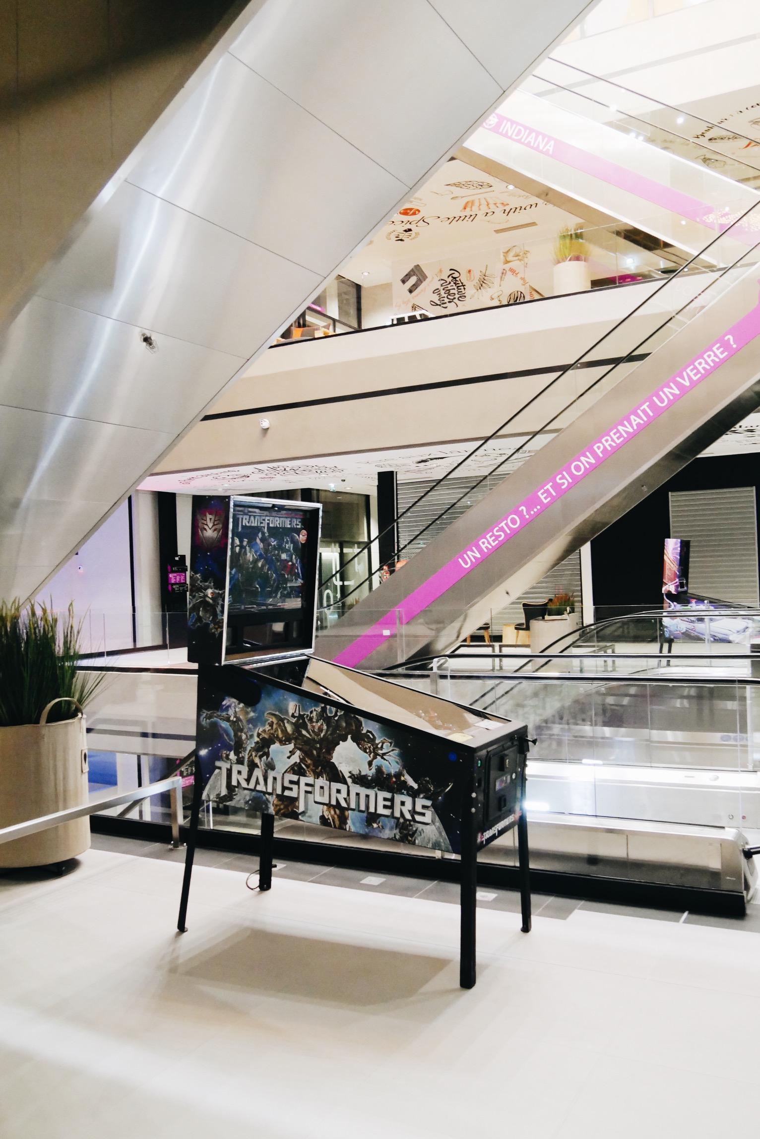 Vill 39 up concept stores chute libre et design - Centre commercial porte de la villette ...