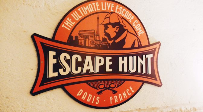 Escape Hunt Paris : Poursuite du Métropolitain en team building