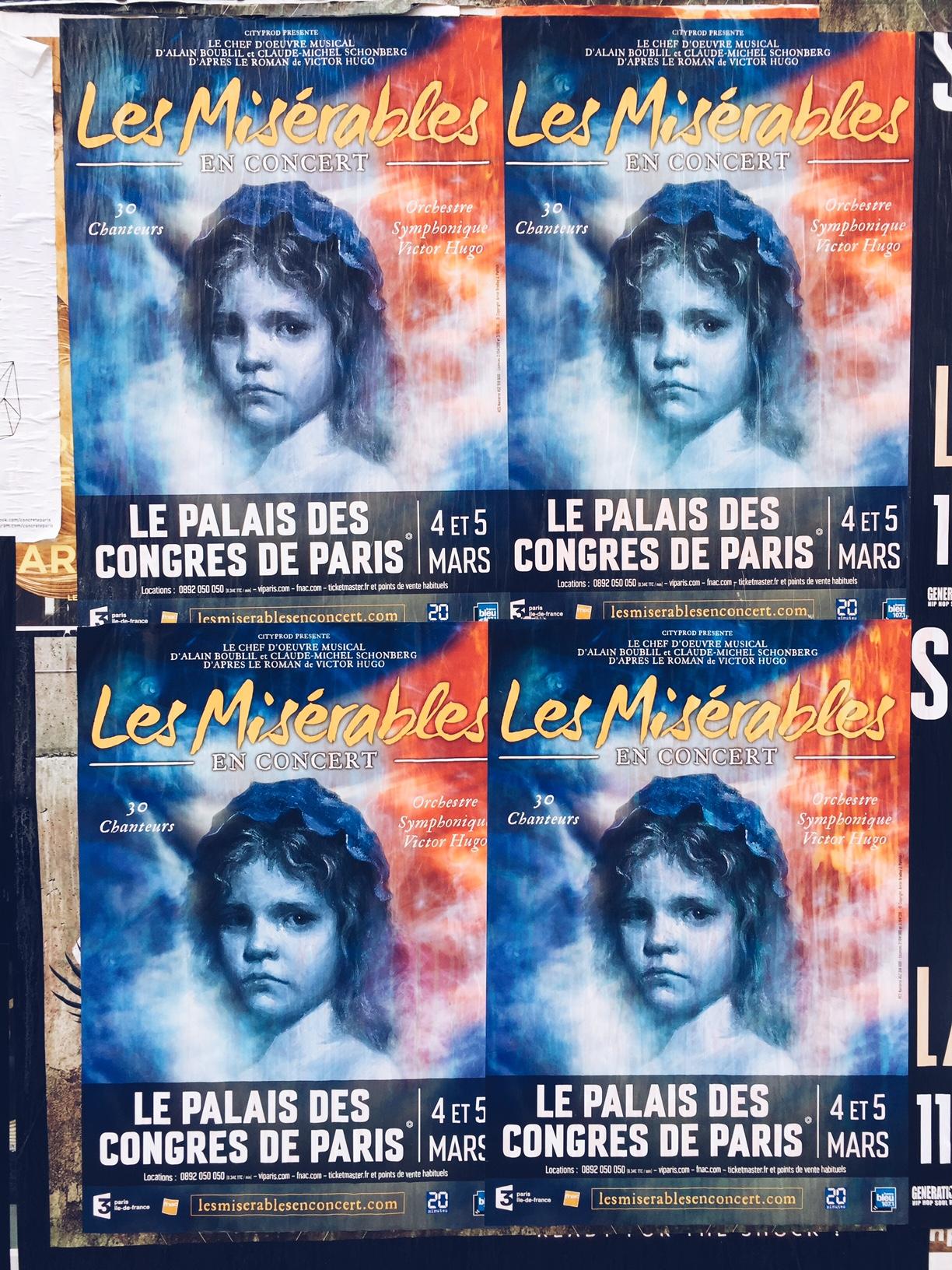 Affiche-Les-Misérables-en-concert-2017-palais-des-congrès-paris-mars-orchestre-symphonique-30-chanteurs