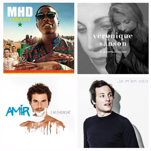 Les Victoires de la musique 2017 vote public pour la Chanson originale de l année MHD Véronique Sanson Amir Vianney
