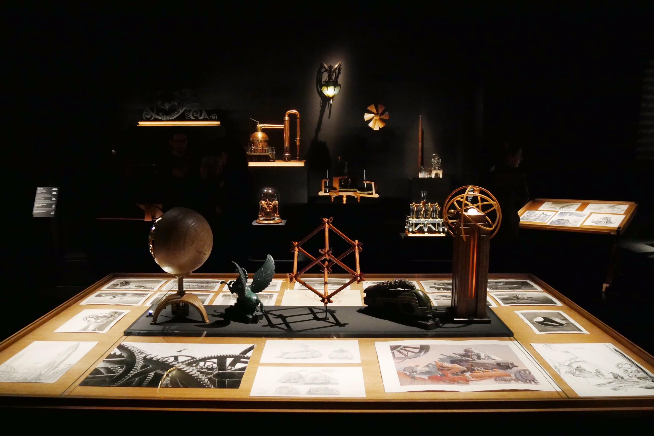 Machines à dessiner exposition Schuiten Peeters Musée des Arts et Métiers Paris photo usofparis blog