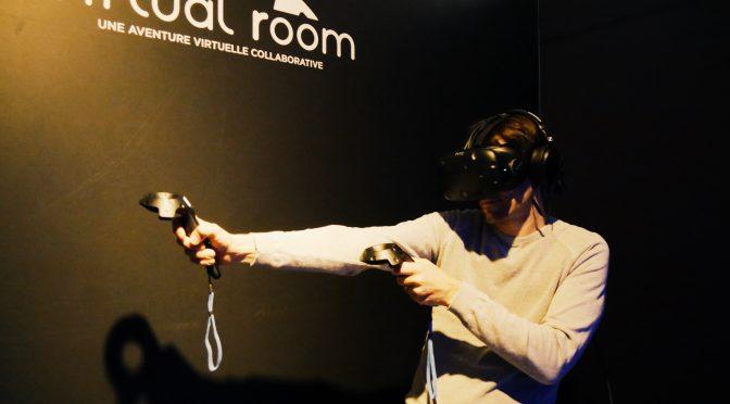 Virtual Room : expérience jeu vidéo en VR époustouflante !