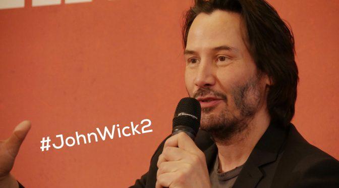 John Wick 2 : Keanu Reeves pro du gun-fu et car-fu !