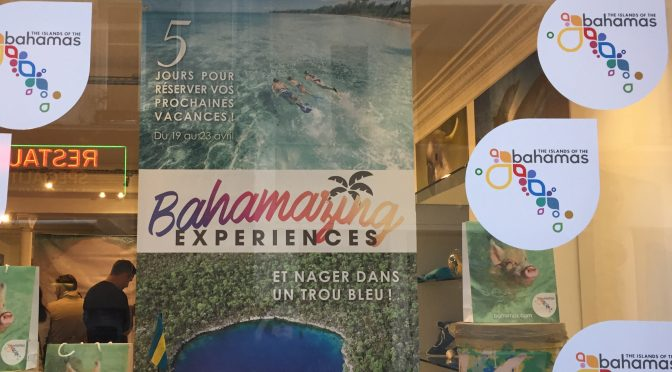Pop up des Bahamas à Paris : un avant-goût du paradis
