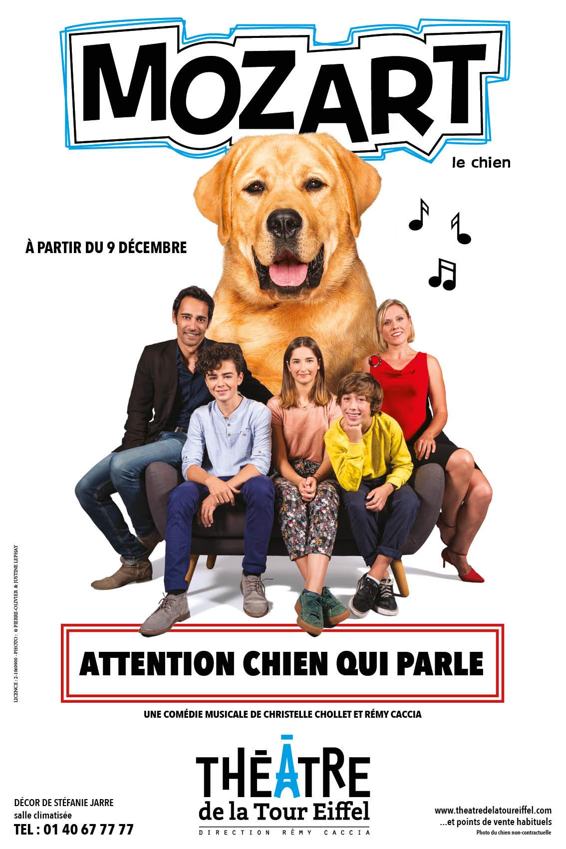 Mozart le chien