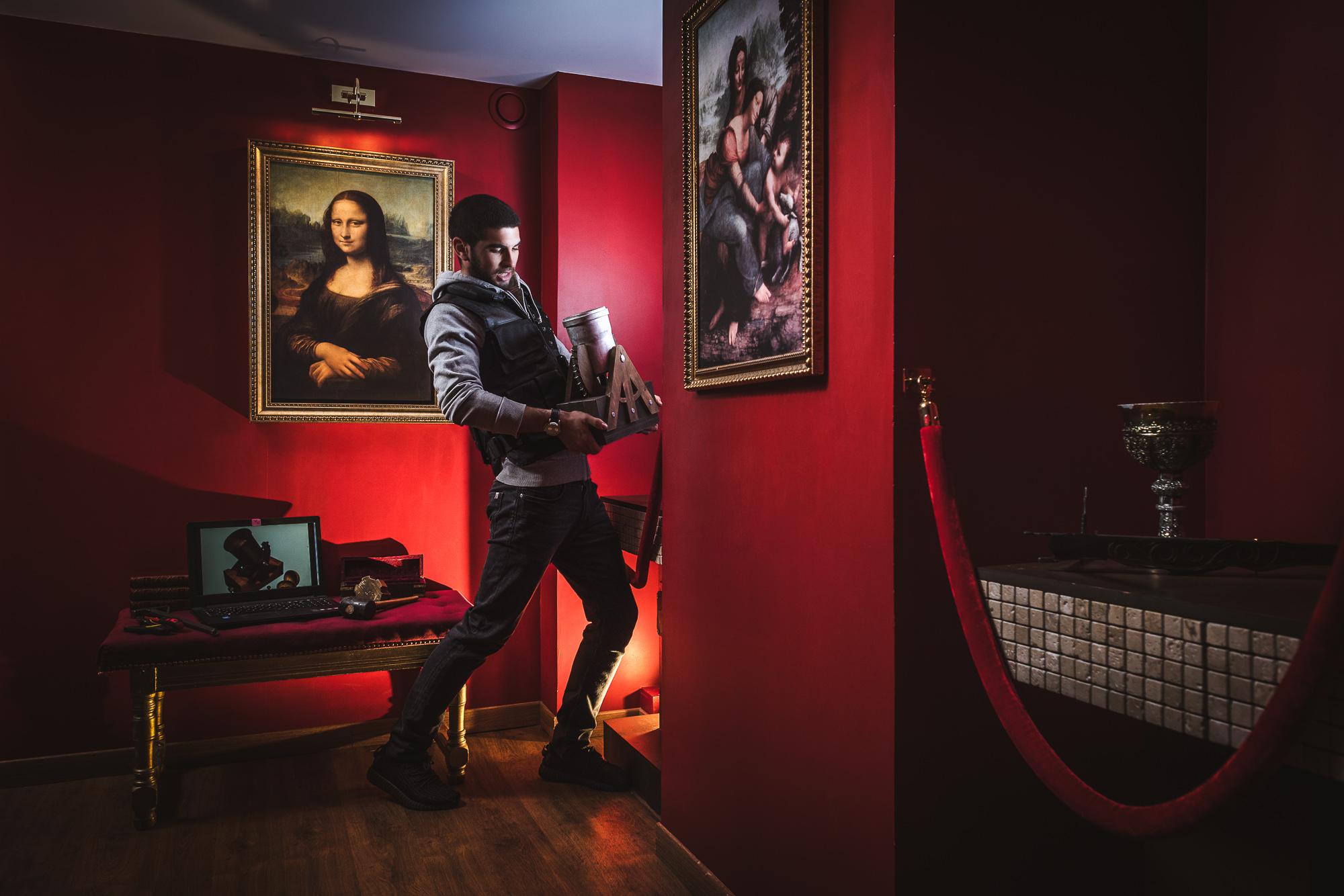 The Room Da Vinci Game
