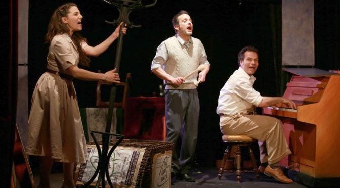 Comédiens ! au Théâtre de la Huchette : un trio virtuose