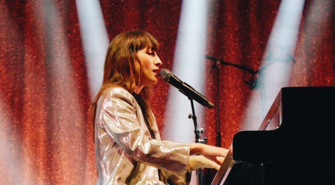 Juliette Armanet interview tournée des festivals & transpiration