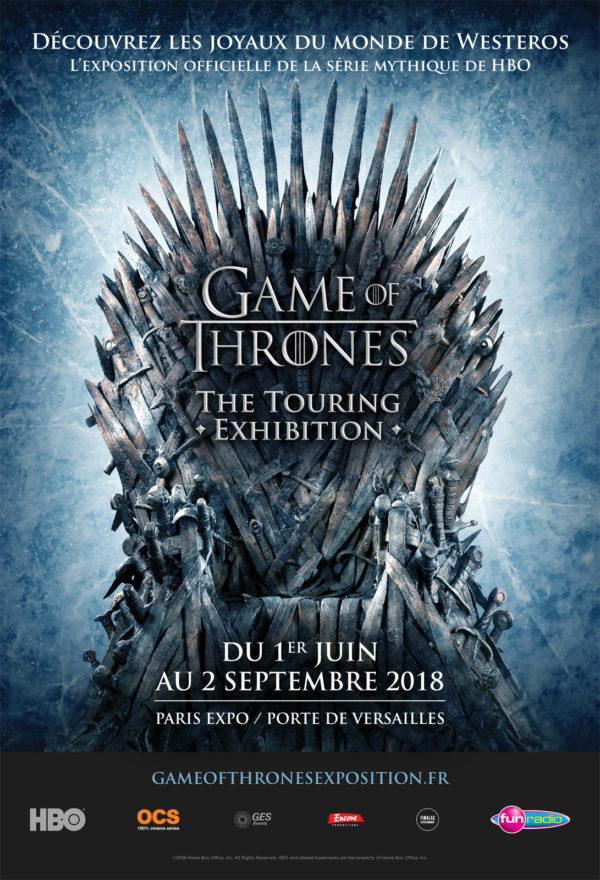 Exposition game of thrones plong e immersive dans westeros - 1 place de la porte de versailles 75015 ...