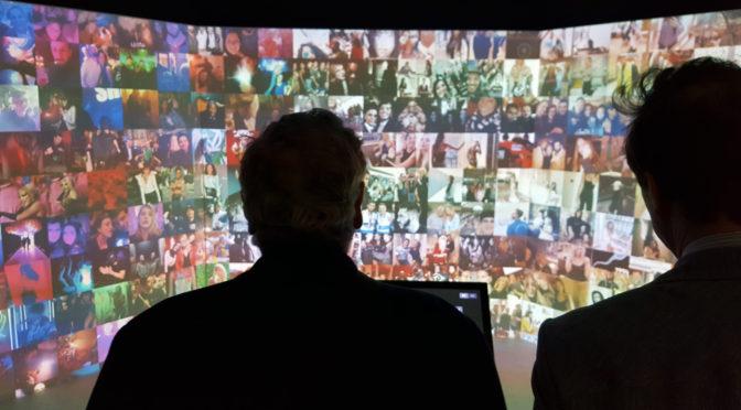 123 DATA l'expo qui fait adorer les données digitales ! @ Fondation EDF
