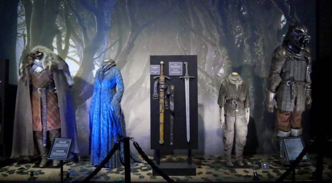 Game of Thrones expo : magistrale minutie & costumes sidérants