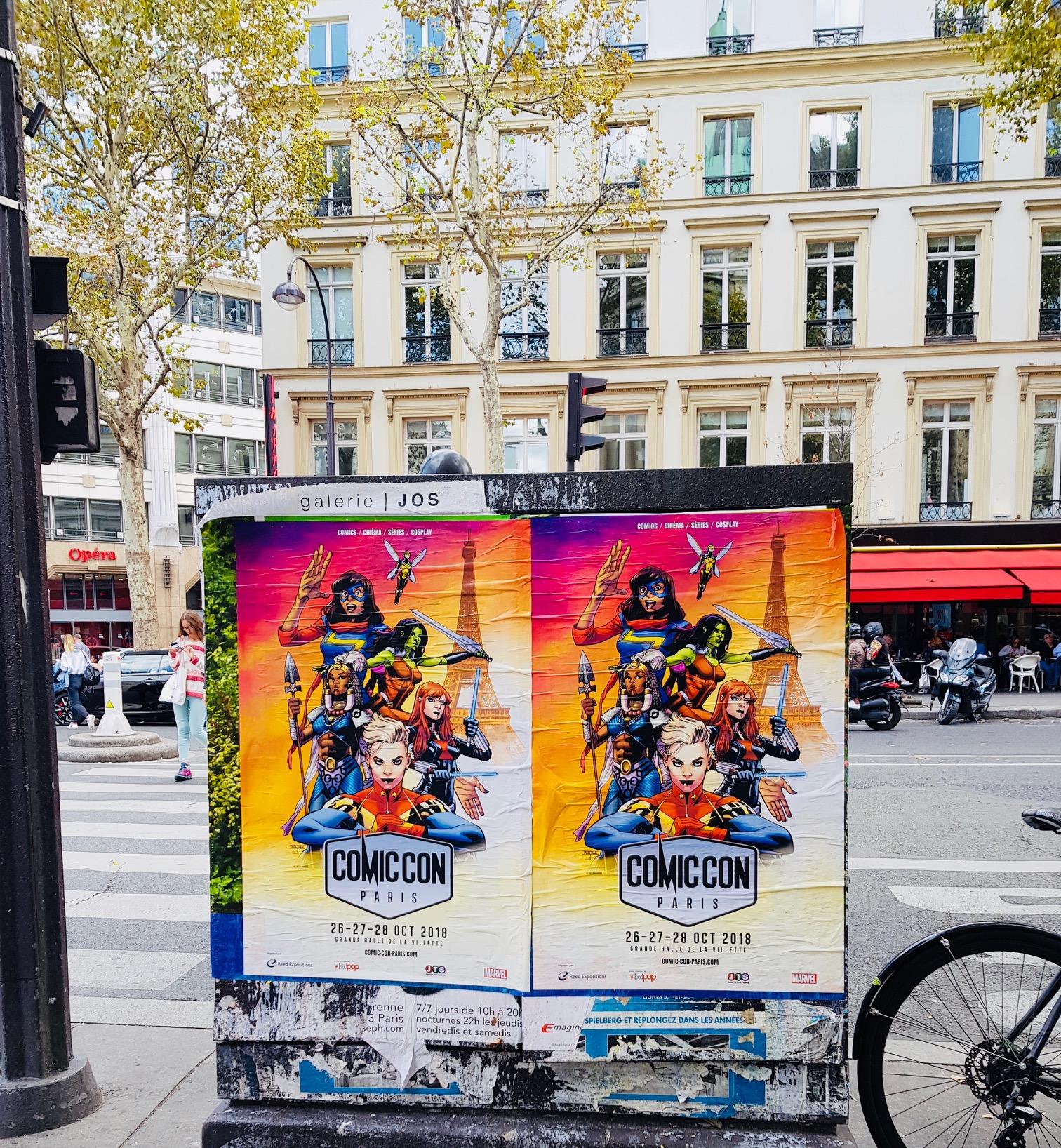Comic Con Paris