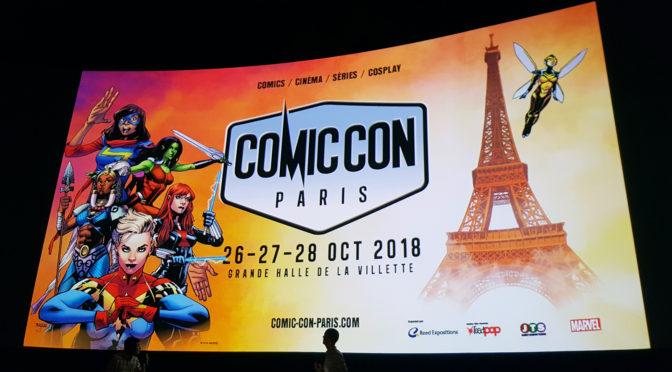 Comic Con Paris 2018 : Franck Miller, Shannen Doherty, Larry Franco & projo exceptionelle