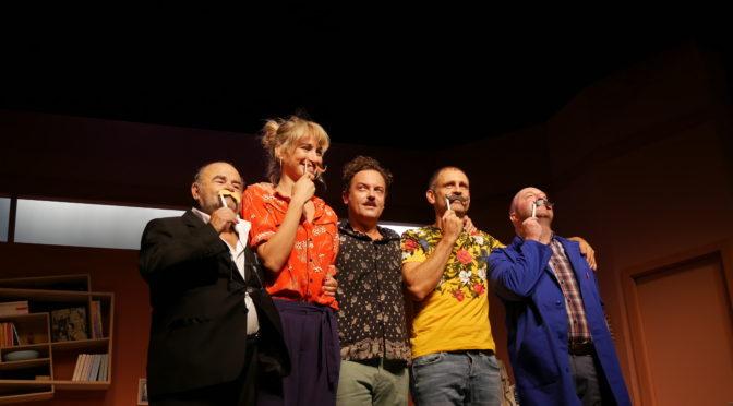 La Moustâche : comédie survoltée à la Gaité Montparnasse