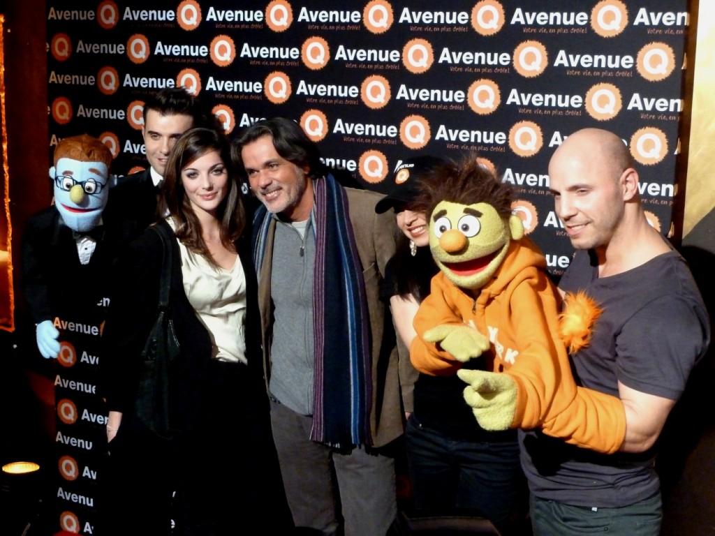 Christophe Barratier Avenue Q bobino paris comédie musicale