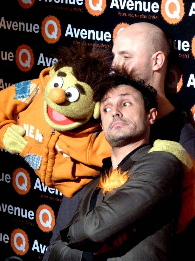 Willy Rovelli comédie musicale Avenue Q France Bobino Paris