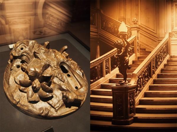 Escalier Centrae Art Chef oeuvre White star Epave RMS Titanic exposition Porte de Versailles 15 avril 1912 naufrage film