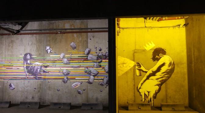 NUIT BLANCHE 2014 : street-art – installations évolutives et diner d'anniversaire