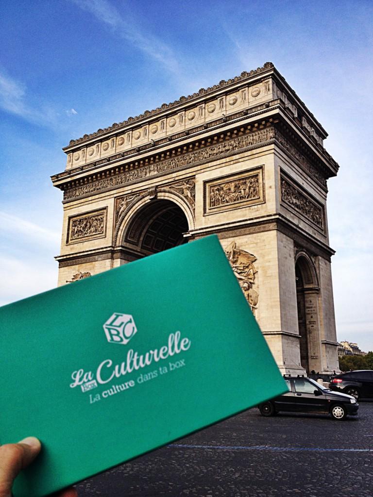 La Box culturelle la culture dans ta box le plein de bons plans sorties théâtre expo livre surprises capitale photo by United States of Paris blog