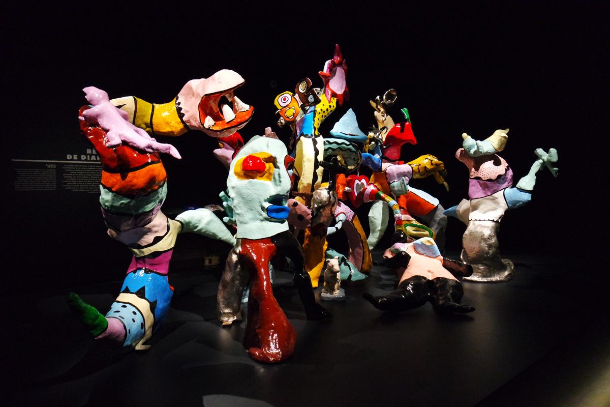 Le Rêve de Diane 1970 by Niki de Saint Phalle Santee Niki Charitable Art Foundation exposition Grand Palais exhibition photo by United States of Paris blog