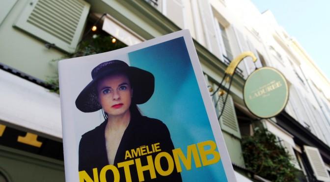 Tea time avec Amélie Nothomb autour de Pétronille son nouveau roman