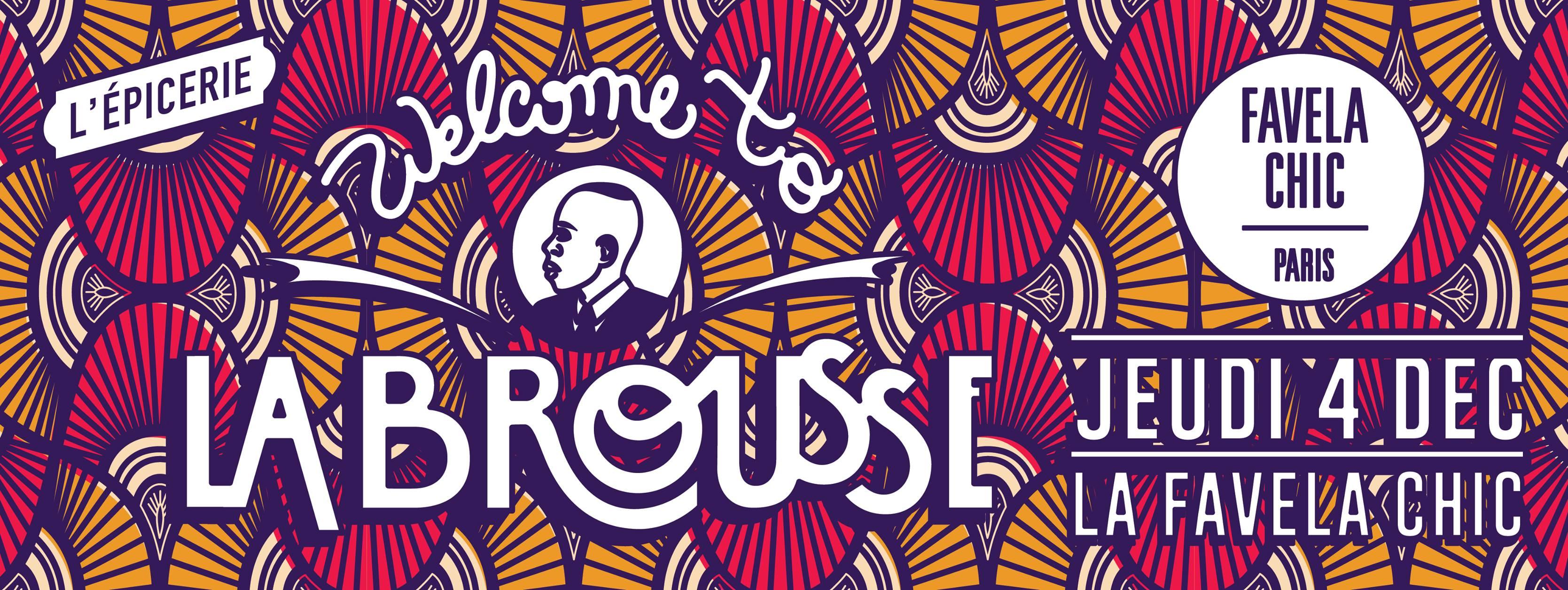 Soirée Welcome to La Brousse Afrique party Collectif l épicerie à la Favela Chic paris le jeudi 4 décembre  2014 musique surprises expo photo