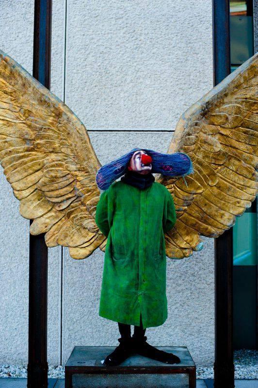 Angel Clown Greez Slava s Snowshow snow show pectacle clown Trianon de Paris tournée en France Russie