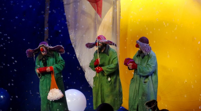 SLAVA'S SNOWSHOW : dans les coulisses du spectacle à sensations