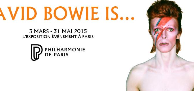 DAVID BOWIE IS… French ! Exposition événement à la Philharmonie Paris