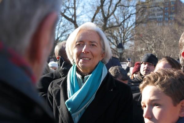 Je suis Charlie JeSuisCharlie Charlie Hebdo hommage reccueillement Washingtown Square New York NYC Christine Lagarde France