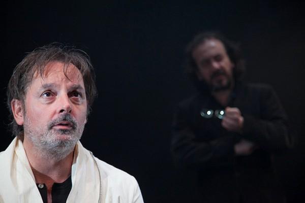 little boy théâtre traversière avec Christophe Alévêque Régis Vlakos  critique Paris