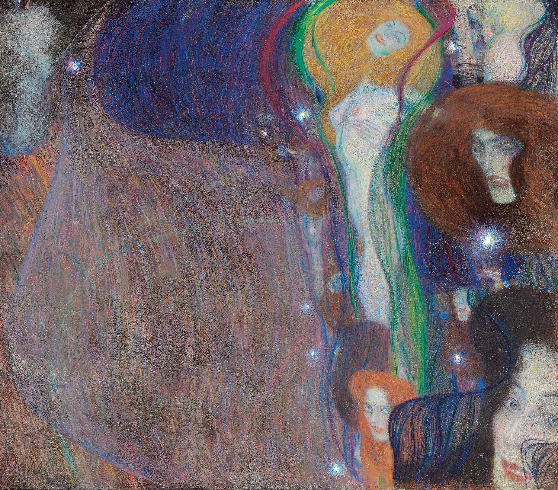 Feu Follet, 1903, Gustav Klimt, collection Privée Londres, photo Alfred Weidinger