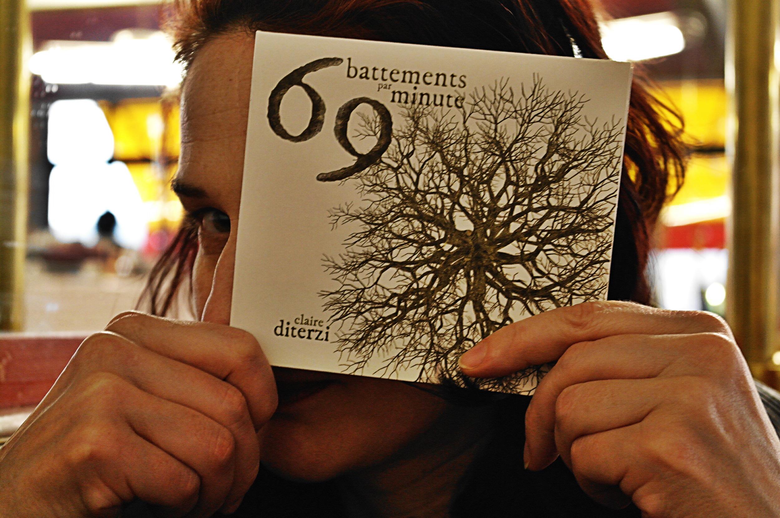 La chanteuse Claire Diterzi présente son nouvel album 69 battements par minute musique concert photo by Joel Clergiot united states of paris blog