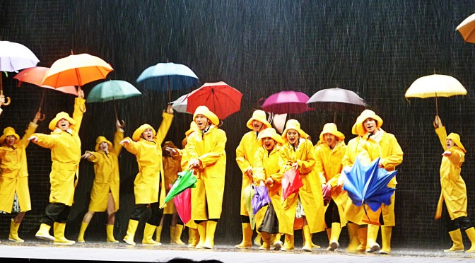 SINGIN' IN THE RAIN au Grand Palais : étourdissant ! #Reprise