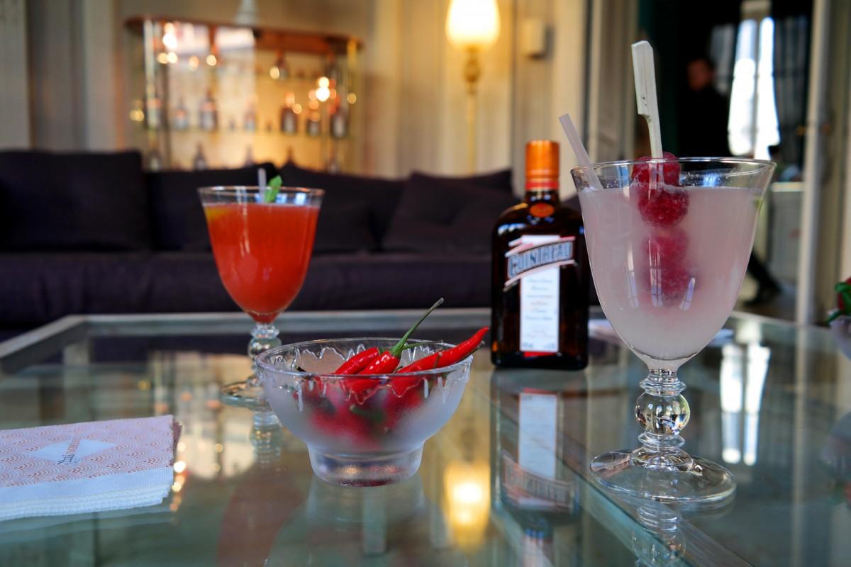 Cointreau Fizz privé soirée entre amis paris Jennifer Taïeb cocktail salon diner terrasse appartement