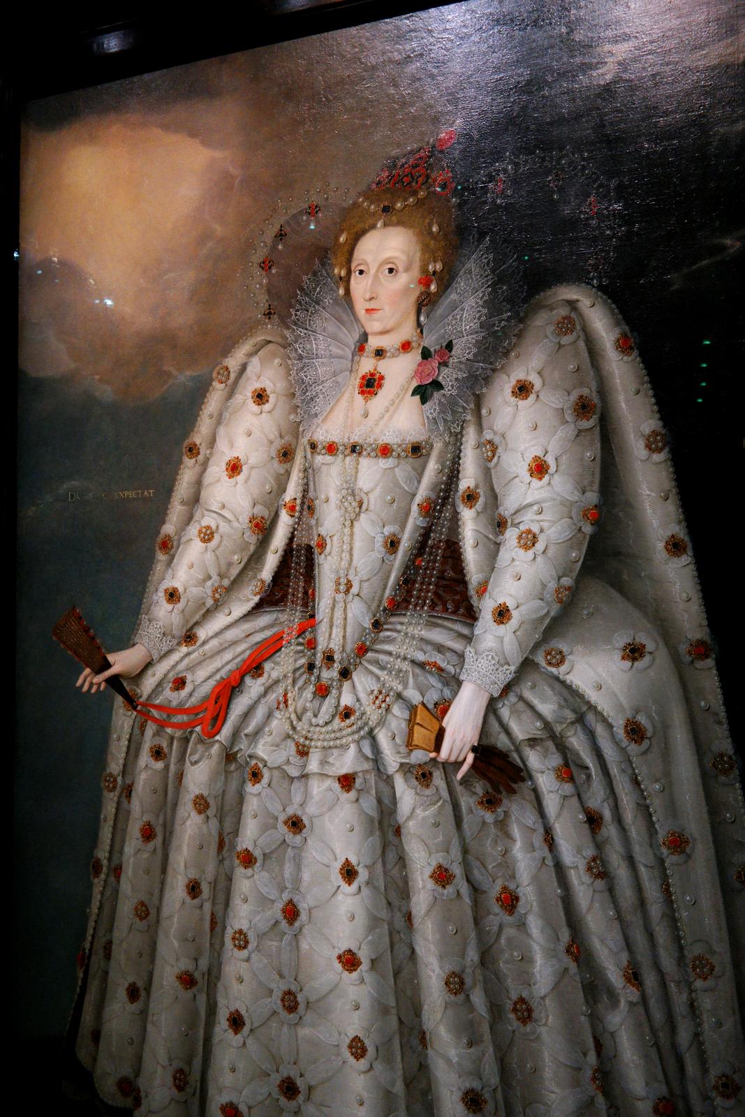 Elisabeth 1ère - dit The Ditchley Portrait - Marcus Gheeraerts le Jeune - vers 1592 - Londres, National Portrait Gallery