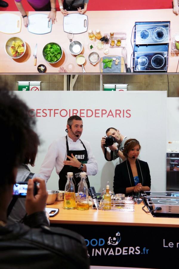 Foire de Paris 2015 porte de versailles exposants coup de coeur Nathalie Nguyen Eric Gerona  découverte icicestfoiredeparis food invaders photo by blog United States of paris