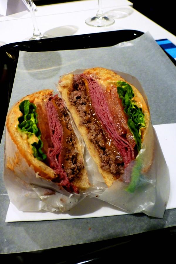 Hamler's Burgery restaurant rue monge paris fait maison Big austin burger tradition food home made  photo by United States of Paris