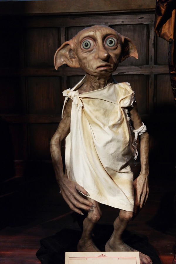 Harry Potter expo exposition paris cité du cinéma Dobby costume avis critique Photo by United States of Paris