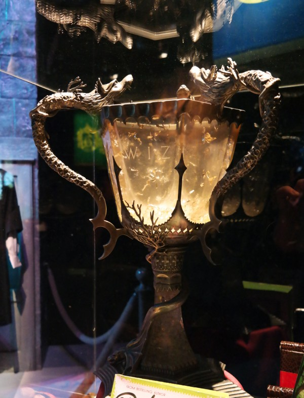 Harry Potter expo exposition paris cité du cinéma la coupe de feu décor avis critique Photo by United States of Paris