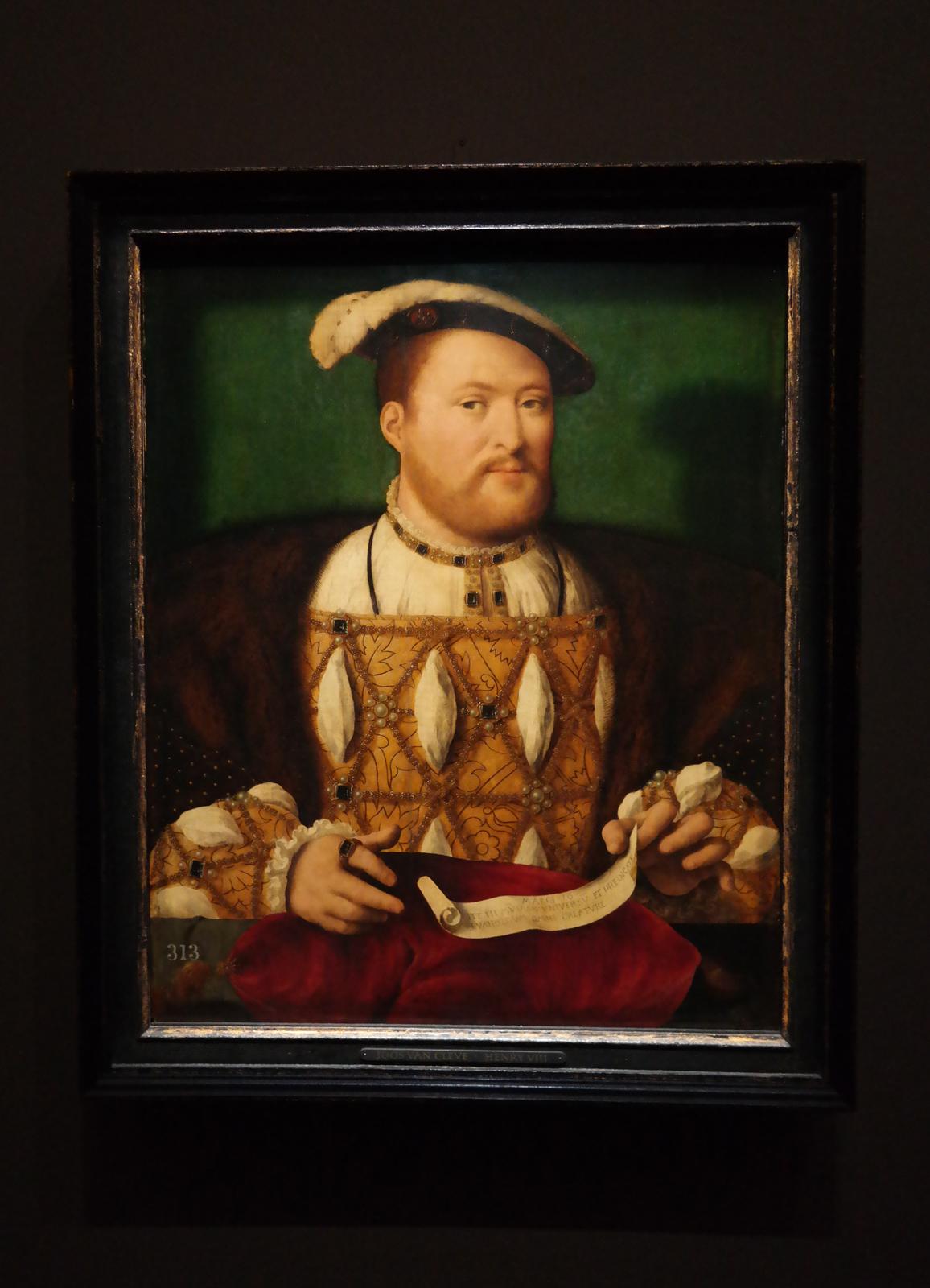 Henri VIII - Joos Van Cleve - vers 1530-1535