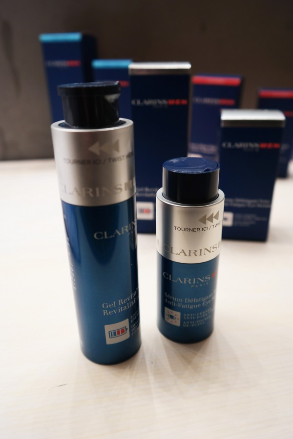 Men in the City Estorymen e-parisiennes homme mâle Clarins Beauté soirée démo produit mode technologie hype photo by United States of Paris