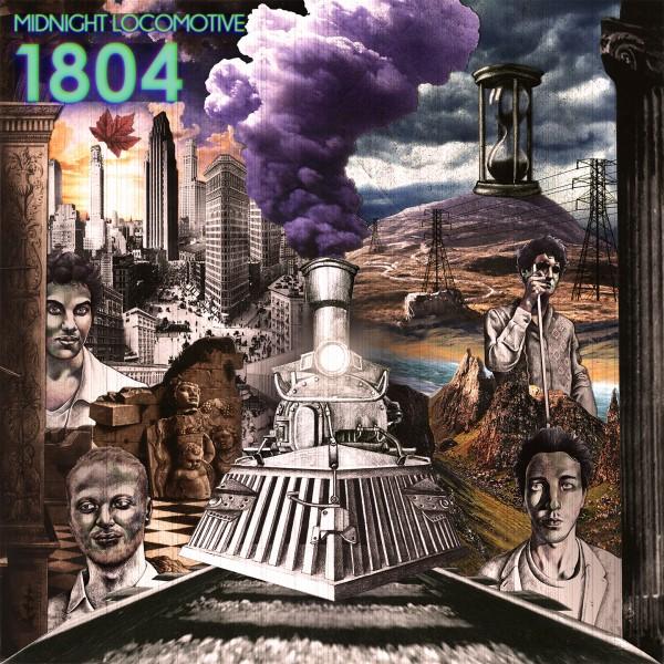 Midnight Locomotive EP 1804 Diego Jean Sam musique rock gaité lyrique concert concours pink floyd album couverture