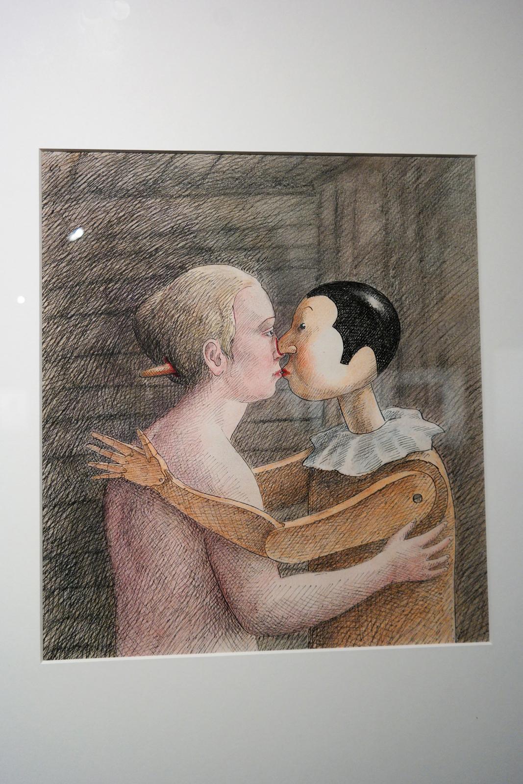 Pinocchio, 1975, Roland Topor, Collection Diogenes Verlag AG, Zurich