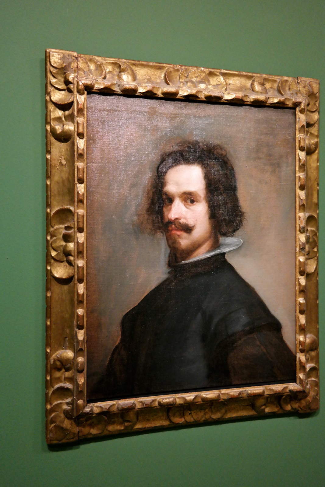 Portrait d'homme (autoportrait ?), 1634-1635, Diego Velazquez, New York, The Metropolitan Museum of Art, The Jules Bache Collection, 1949